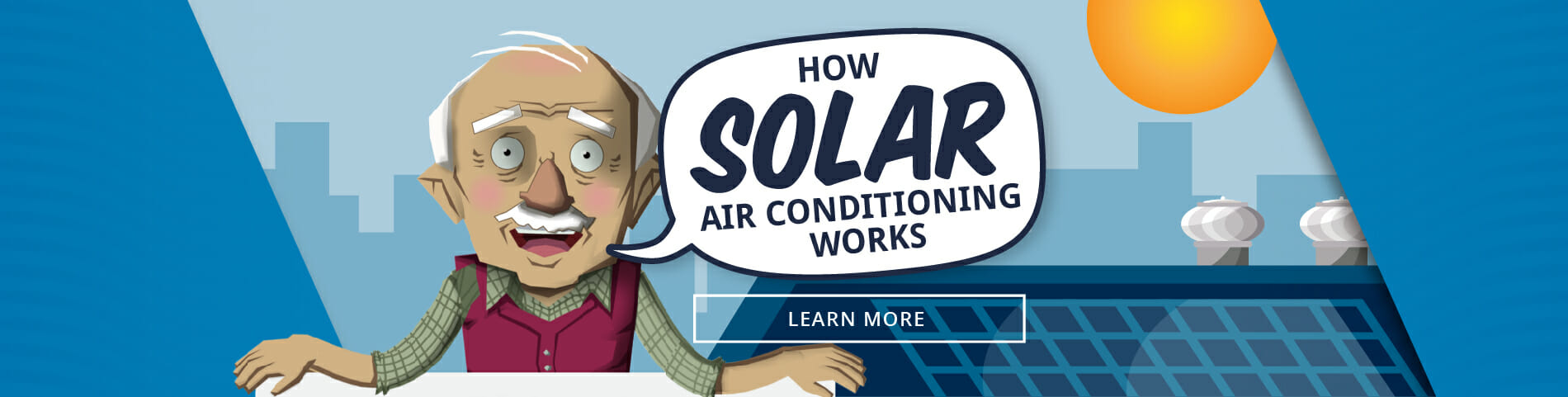 How Solar Air Conditioning Works