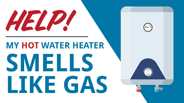 Help! My Hot Water Heater Smells Like Gas - Appolo Heating