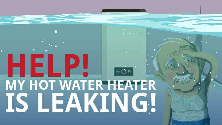 Help! My Hot Water Heater is Leaking