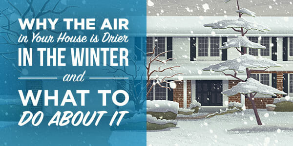 Why the air in your house is drier in the winter and what do to about it - Appolo Heating