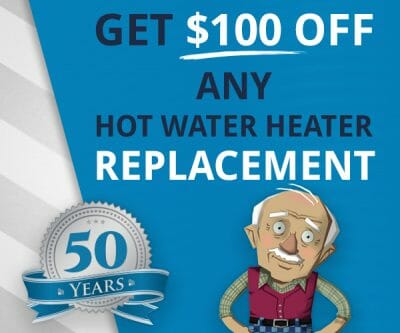 Hot Water Heater Discount Coupon