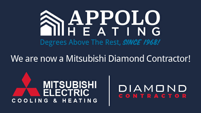 Appolo Heating is now a Mitsubishi Electric Diamond Contractor