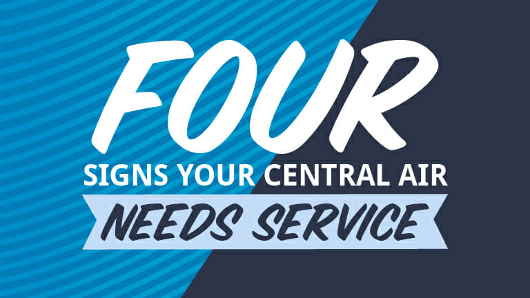 Four signs your central air needs service - Appolo Heating