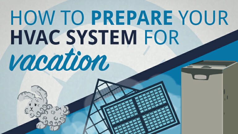 Learn how to prepare your HVAC system for vacation with Appolo Heating