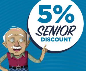 Our Senior Discount