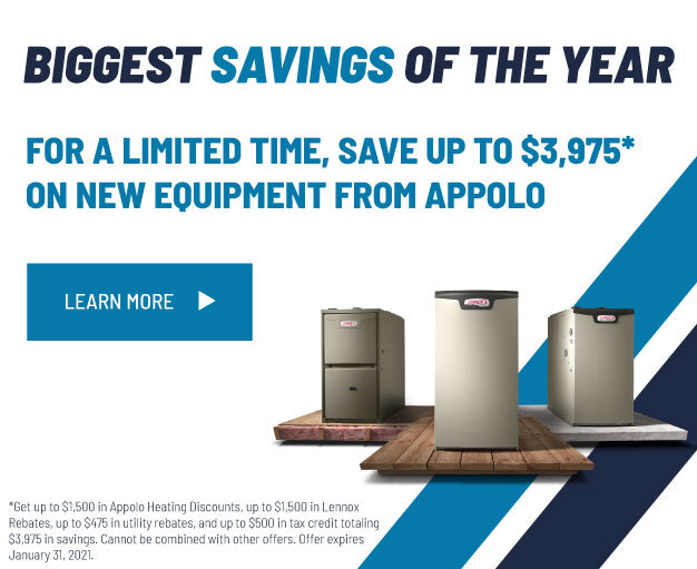 Save up $3,975 Off New Equipment At Appolo
