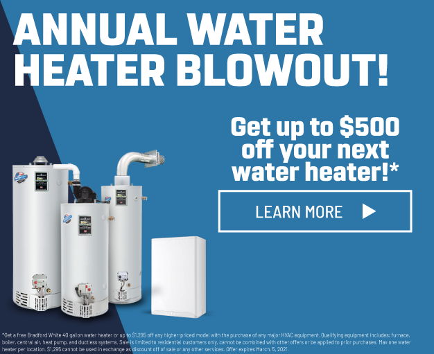 Annual Water Heater Blowout
